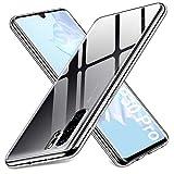 Whew Transparent Weich Hülle Kompatibel mit Huawei P30 Pro
