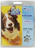 SOFTCLAWS® Krallenschutzes für Hund Große XXXLARGE (JUMBO) Farbe Durchsichtig
