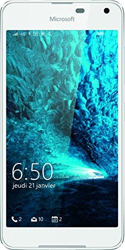 Microsoft Lumia 650 Smartphone, entsperrt, 4G+, Display: 11,4cm / 5Zoll, 8GB, Nano-SIM (1-Fach), Windows Phone