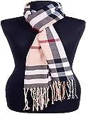 PINZU Men and Women's Woolen Check Pattern Mufflers/Scarves/Stoles (Multicolour, Free Size)