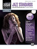 Female Voice Jazz Standards: Piano/Vocal Sheet Music With Orchestrated Backing Tracks (Vocal Complete)