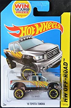 HOT WHEELS 2014 RELEASE SILVER 2010 TOYOTA TUNDRA DIE-CAST PICK UP TRUCK HOT WHEELS 2010 TOYOTA TUNDRA
