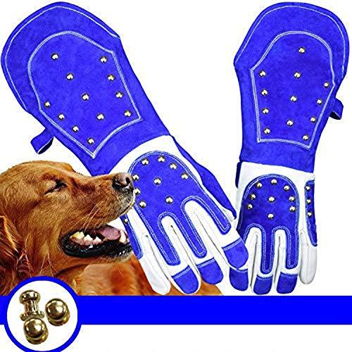 LKA Animal Handling Anti-Bite/Scratch Handschoenen Hond, Kat Krab, Anti Bite Scratch Grabbing, Reptiel Eekhoorn Snake Bite 55Cm Warmte