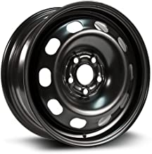 RTX, Steel Rim, New Aftermarket Wheel, 15X6, 5X100, 57.1, 38, black finish X99130N