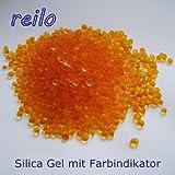 5x 100g Silica Gel orange Raum- Luftentfeuchter Trockenmittel, regenerierbar, mit Farbindikator