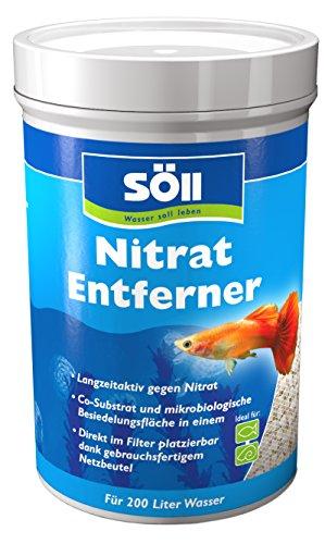 Söll 18820 NitratEntferner 120 g für 200 Liter Wasser - Natürliche Nitratreduktion im Aquarium gegen Algenwachstum und Krankheitsanfälligkeit aller Aquarienbewohner