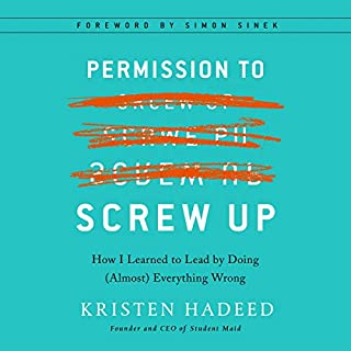 Permission to Screw Up audiobook cover art