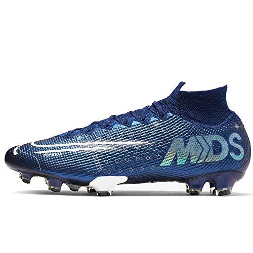 Nike Unisex-Erwachsene Superfly 7 Elite MDS Fg Fußballschuhe, Mehrfarbig (Blue Void/Barely Volt/White/Black 401), 42 EU