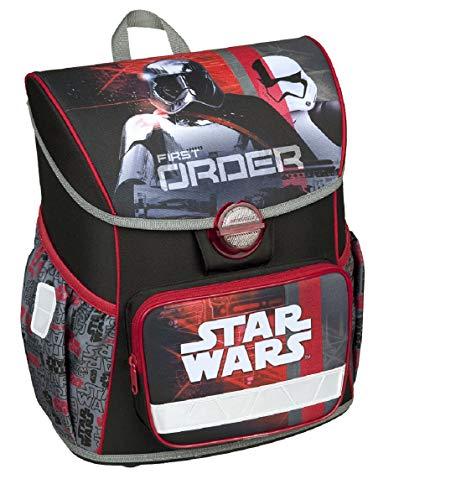 Schulranzen Ranzen Schultasche kompatibel mit Star WarS SCHWARZ ROT