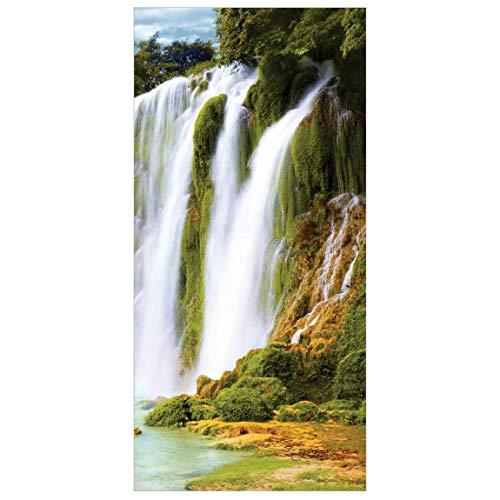 Panel japones Amazon Waters 250x120cm | Paneles japoneses separadores de ambientes Cortina Paneles japoneses Cortina Cortinas | Tamaño: 250 x 120cm sin Soporte