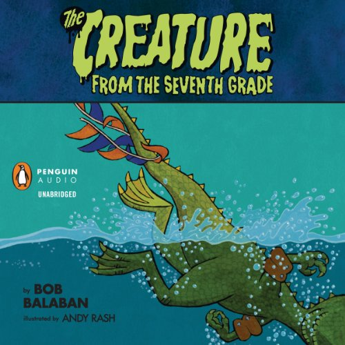 The Creature from the 7th Grade: Sink or Swim audiobook cover art