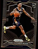2019-20 Prizm NBA #263 Nickeil Alexander-Walker RC Rookie New Orleans Pelicans Official Panini Basketball Trading Card
