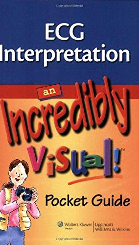ECG Interpretation: An Incredibly Visual!: Pocket Guide (Incredibly easy)