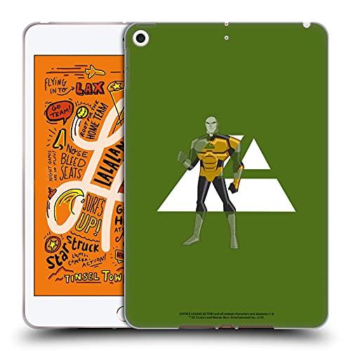 Head Case Designs sous Licence Officielle Justice League Action Lex Luthor Graphiques Coque en Gel Doux Compatible avec Apple iPad Mini (2019)