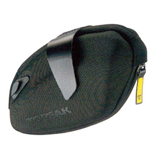 TOPEAK DynaWedge Strap Mount Bolsa para sillín, Unisex Adulto, Negro, 14 x 4.5 x 10.5, 0.35 L