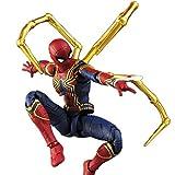 Spiderman Main Modèle Jouet Poupée Avengers Artisanat Collection Cadeaux De Vacances 15cm