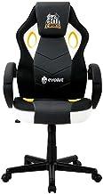 Cadeira Gamer Hunter EG-901 Santos E-Sports (Branco, Preto e Dourado) Evolut
