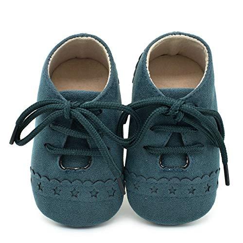 DYCDQMJC Zapatos de bebé de 0 a 1 año de edad zapatos de bebé antideslizantes suela suave para niños y niñas