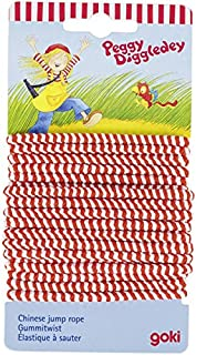 """Goki """"Peggy Diggledey"""" Outdoor Chinese Jump Rope"""
