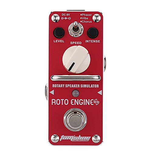 Guitar Effect Pedal ARE-3 Roto Engine Rotary Speaker Simulator Mini Single Electric with True Bypass