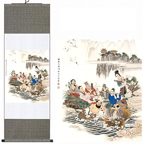 Chinese Scroll Painting: Amazon com