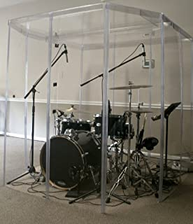 soundproof drum enclosure