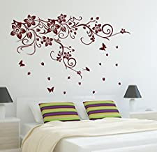 Sticker Studio Branches Wall Sticker (PVC Vinyl,Size -60 cm x 91 cm)