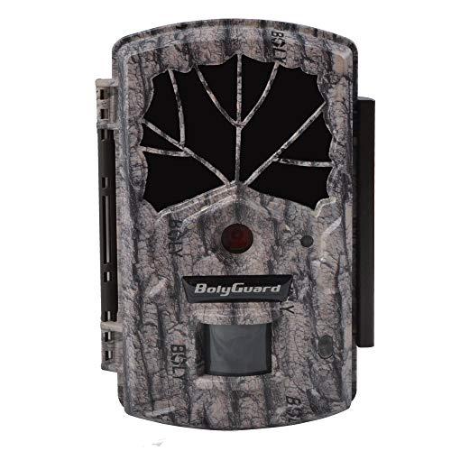 BolyGuard Wildlife Wildkamera 24 MP 1080P HD Jagdkamera 30,5 m Erfassungsreichweite 40 Stück 940 nm IR-LEDs mit Nachtversion für Wildtierüberwachung und Heimsicherheit (BG590-24mHD)