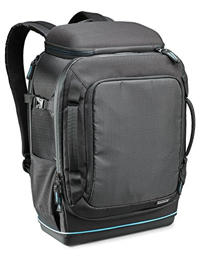 Cullmann Peru Backpack 600+ extrem robuster Kamerarucksack für große DSLR-Ausrüstung, Large schwarz