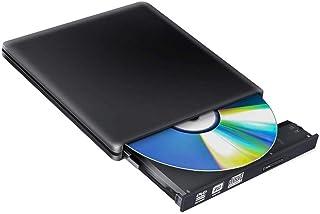 MUMUWU Type-C+USB 3.0 External DVD Optical Drive Blu-ray Combo BD-ROM 3D Player CD/DVD-RW Burner Writer Recorder
