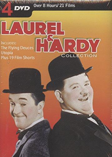 Laurel & Hardy Collection 4 DVD Set 21 Films