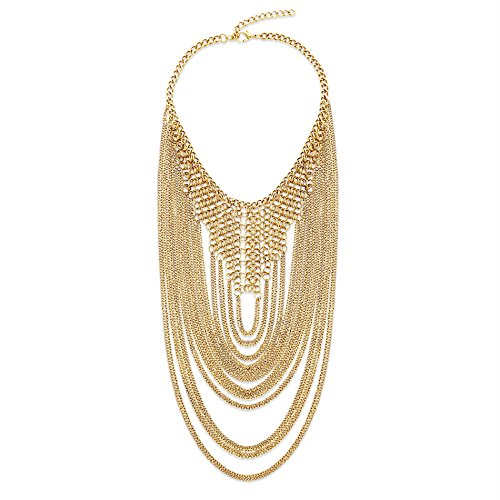 Steve Madden ChainLink Loop Statement Necklace for Women