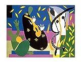 La tristeza del rey de Henri Matisse Giclee Imprimir en Lienzo-Pinturas,Cuadros Lienzos,Famosas Arte Fino Póster,Reproducción Decoración de Pared (35x46cm/14x18 pulgadas, sin marco)