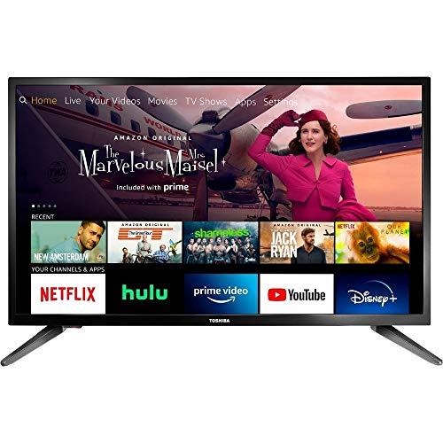 """Toshiba 32LF221U21 1080 x 720 32"""" Smart LED TV,Black"""