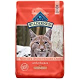 Blue Buffalo Wilderness High Protein, Natural Adult Indoor Hairball & Weight Control Dry Cat Food, Chicken 11-lb