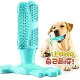 Trihedral-X Dientes Cepillo de Dientes Cepillo de Dientes del Perro del Perro del palillo Juguetes de Pasta de Dientes de Perro Mascota (Color : Blue, Size : M)