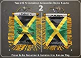 Jamaica Jamaican Accessories flag style for car home windows doors & More