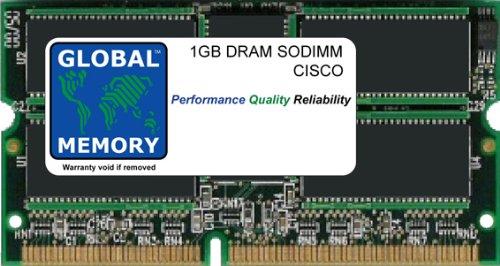 GLOBAL MEMORY 1GB DRAM SODIMM ARBEITSSPEICHER FÜR Cisco Catalyst 6500Series SWITCHES Supervisor Engine & Route Switch Prozessor (mem-s3–1GB)