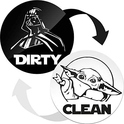 Dishwasher Magnet Clean Dirty Sign Indicator Double Sided Clean Dirty Dishwasher Magnet Kitchen product image