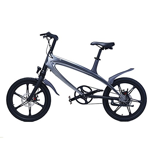 GTYW Bicicletta Elettrica Mountain Bicicletta City Fashion Semplice Ciclomotore Rimovibile al Litio Smart-Built-in Bluetooth Stereo Mountain Bike