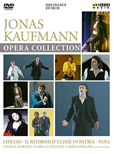 Jonas Kaufmann Opera Collection [3 DVDs]