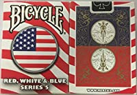 自転車赤白と青のシリーズ5サークルデザインのトランプ Bicycle Red White and Blue Series 5 Circle Design Playing Cards