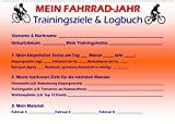 Mein Fahrrad-Jahr: Trainingsziele & Logbuch - Power Year Edition (Wandkalender 2022 DIN A2 quer)
