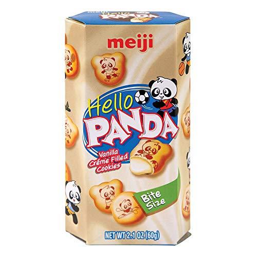 Meiji Hello Panda koekjes van vanille zoete snack