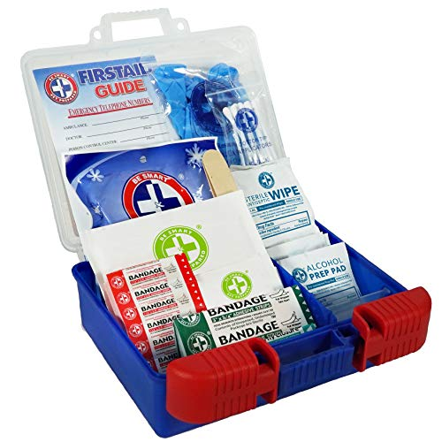 Be Smart Get Prepared 0HBC0082 00Piece First Aid Kit