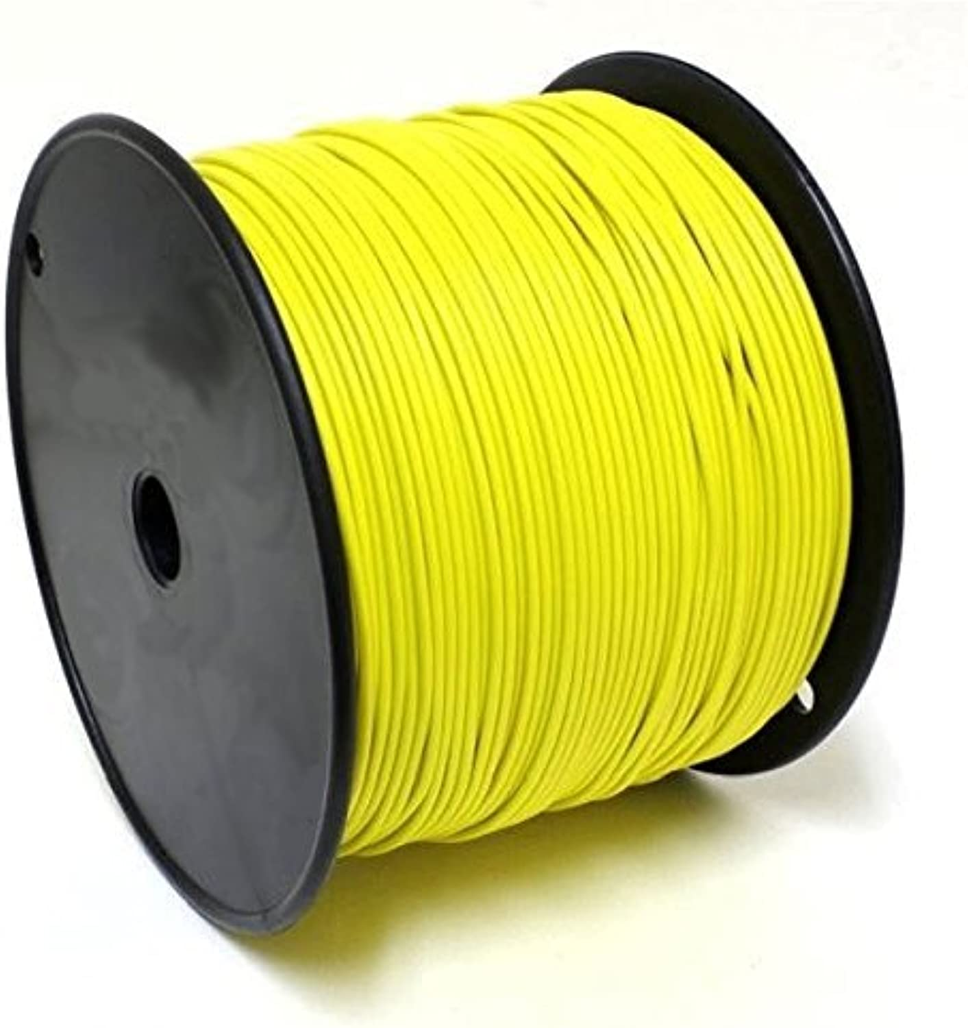 FunAce Burial Grade 20 Gauge Copper Wire  Extra Thick Heavy Duty Single Stranded Solid Insulated Wire Cable Reel  Wire Spool 20AWG 1000 Feet  Yellow