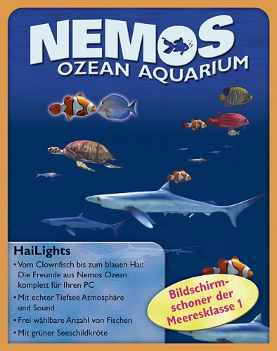 Nemos Ozean Aquarium, 1 CD-ROMFür Windows 98, ME, 2000, XP