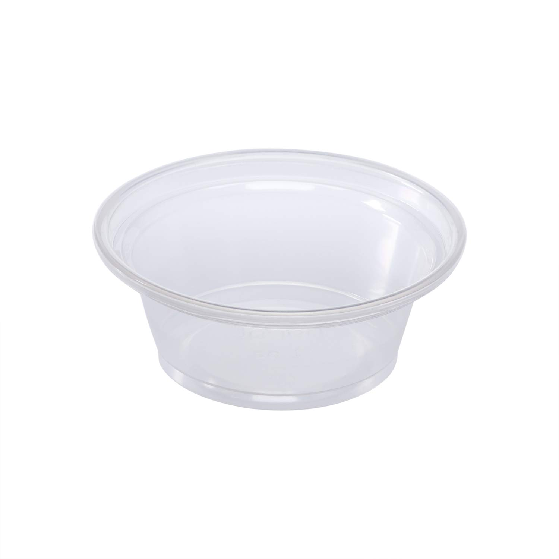 Karat FP-P100-PP 1 oz. PP Portion 2500 Clear favorite - of shop Cups Case