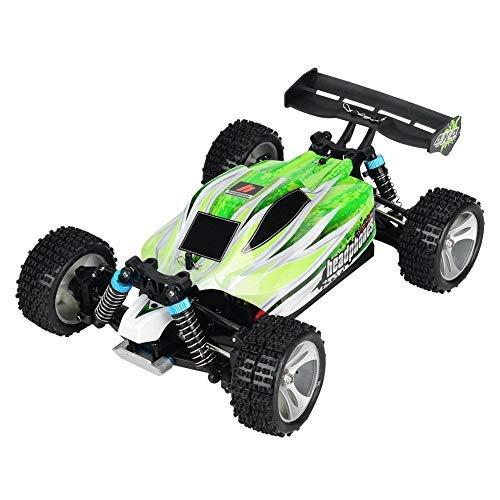 Dilwe ferngesteuertes Auto, Geländewagen Drift Auto 70 km/h 4WD mit eingebaute 7,4 V Batterie und Vier Stoßdämpfern WLtoys A959-B 1/18 Fernsteuerung Auto Antrieb Spielzeug Geschenk für Kinder