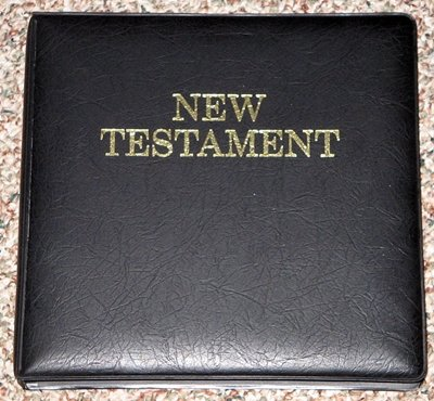 The Bible on Cassette; New International Version, New Testament (12 tapes)